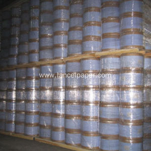 Porous carrier tissue paper