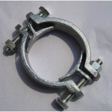 OEM manufacturer custom for Tube Clamp Malleable Iron Double Bolts Hose Clamps supply to Portugal Wholesale
