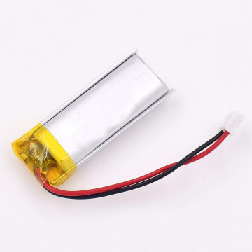 Rechargeable lithium polymer battery 3.7v 850mah