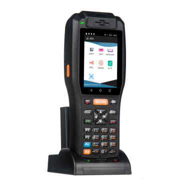 Industrial handheld wifi barcode scanner PDA with charger