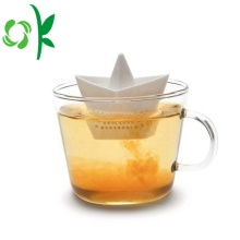 Paper Boat Shaped Creative Silicone Filter Infuser Strainer