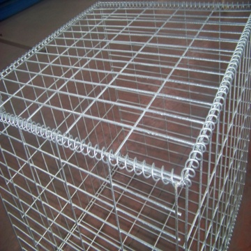 1x1x1m Galvanized Welded Gabion Box Retaining Wall