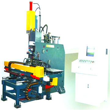 Hydraulic Punching and Drilling Machine for Steel Plates