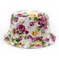 Cheap Floral Sublimation Children Kids Bucket Hats