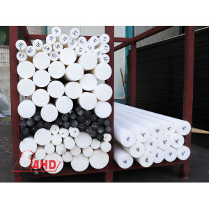 professional factory for for Pom Plastic Rod Free Sample White Black POM Copolymers Polyformaldehyde Rod supply to Netherlands Antilles Exporter