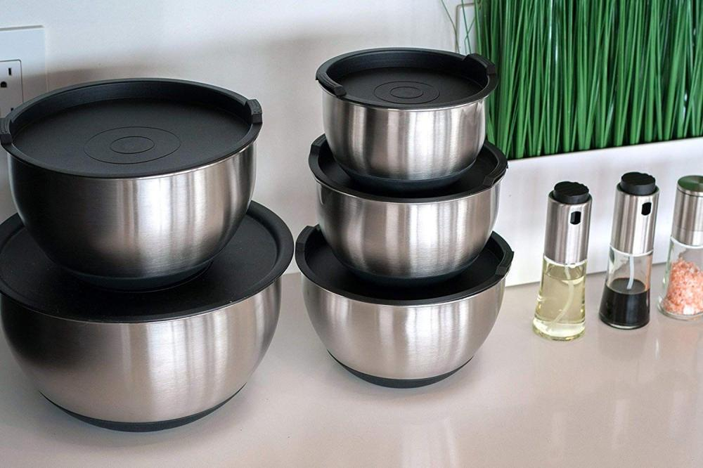 5 Piece Mixing Bowls With Lids