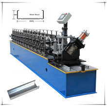 Aluminum metal stud roll forming machine