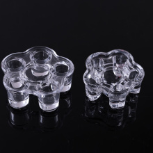 Glass Flower Tealight