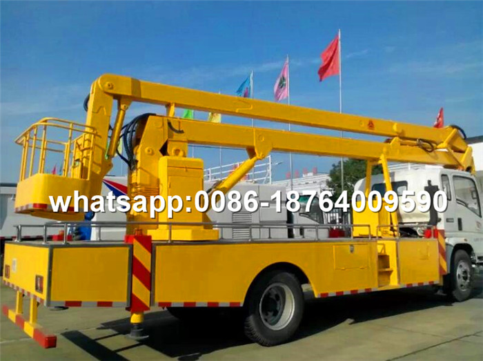 HOWO Vehicle 4x2 Aerial Work Platform Truck