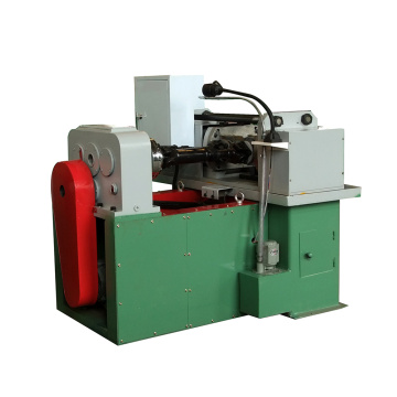 Hydraulic thread rolling machine for anchor bolts