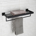 Stainless Steel Mirror Lacque Double Towel Racks