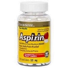 aspirin 325 mg daily