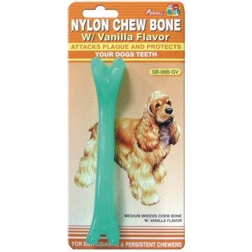 "Percell 6"" Soft Chew Bone Vanilla Scent"