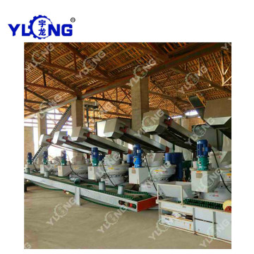 Birch Waste Pellets Machine