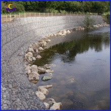 China OEM for Galfan Gabion Box Reno Mattress Bank Protection export to Cuba Manufacturers