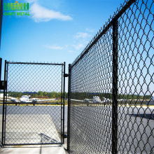 PVC coating garden chain link mesh fence