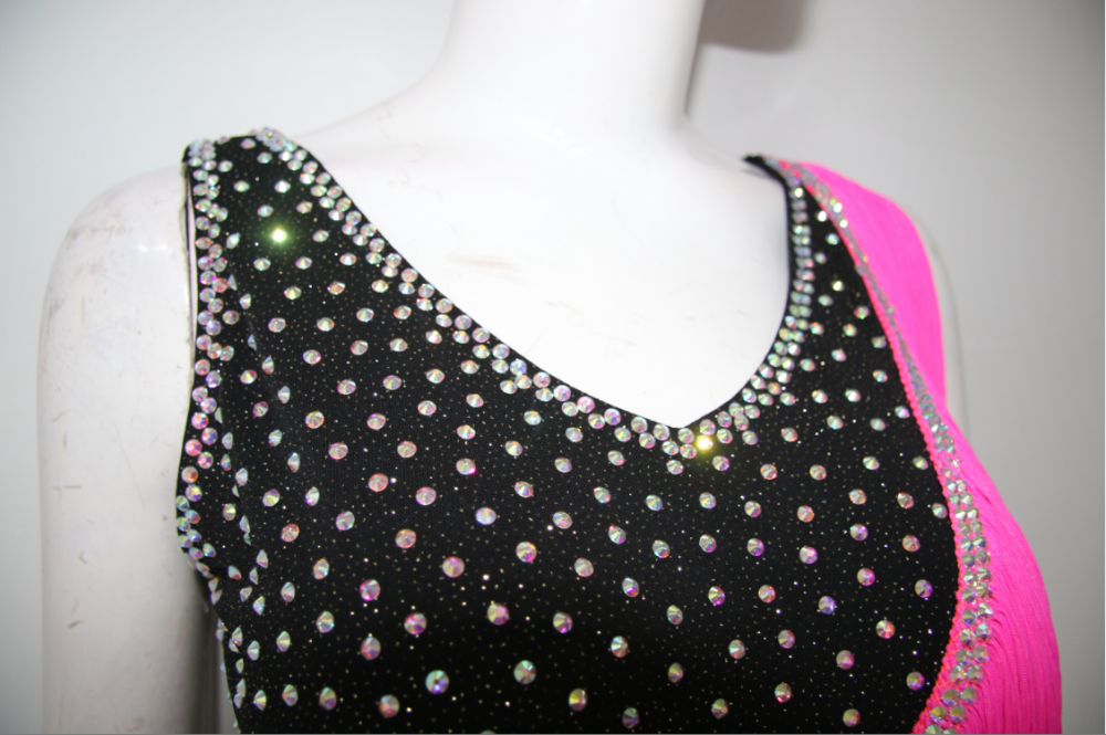 Pink Latin Dancing Dress