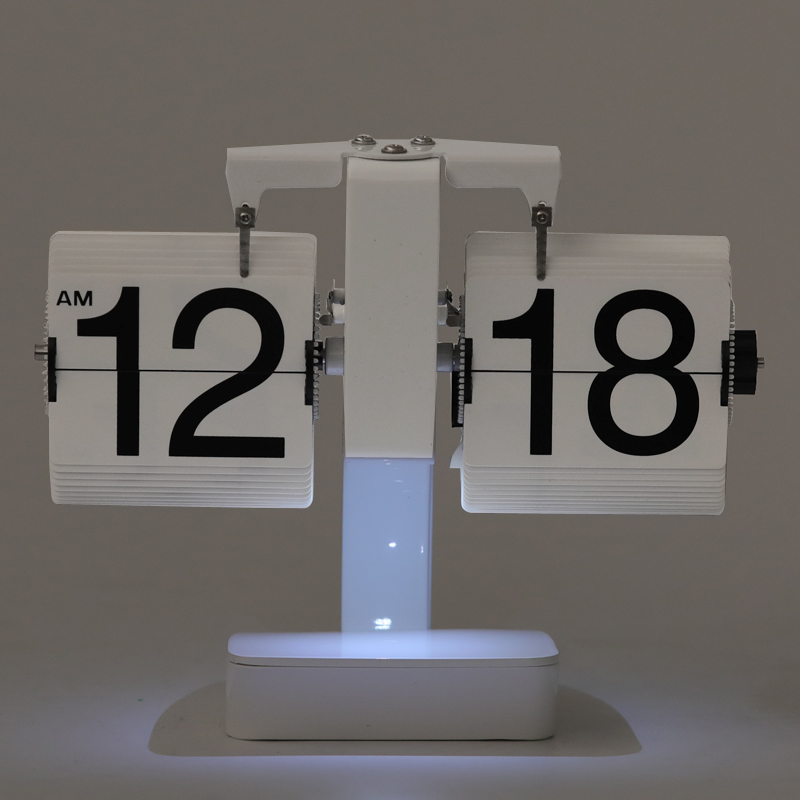 Table Lamp Clock