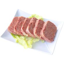 Good quality 100% for Canned Pork Luncheon Meat HALAL Tinned Beef Luncheon Meat with Key for Brazil export to India Factories