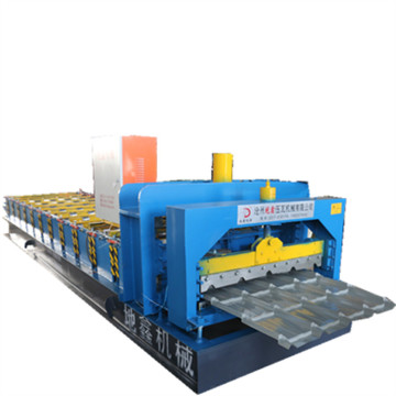 Metal Glazed Steel Roof Tile Making Machine