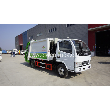 Brand new Dongfeng 115HP 5cbm Trash Compactor Truck