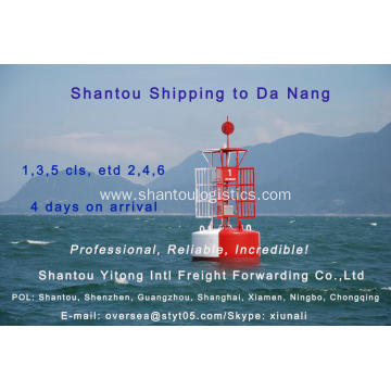 Shantou Shipping to Da Nang