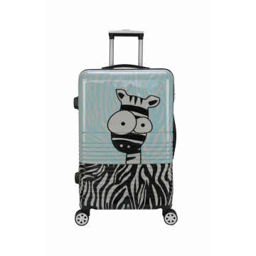 Cartoon figure trolley luggage