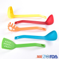plastic colorful kitchen cooking utensil tool set