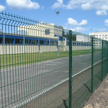 Welded 50x200mm Mesh Nylofor 3D Panel Fencing