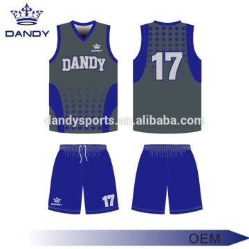 Good Quality for Sublimation Basketball Jersey cheap sublimated basketball jersey clothing export to Costa Rica Exporter