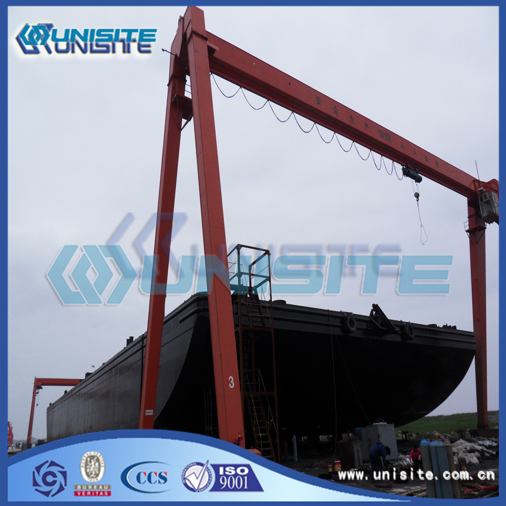 Marine Transport Sand Barge