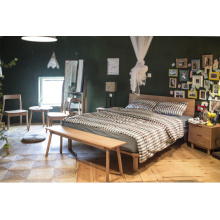 Best Quality for Wooden Bed Modern Solid Wood Flat Back Beds export to Comoros Manufacturers