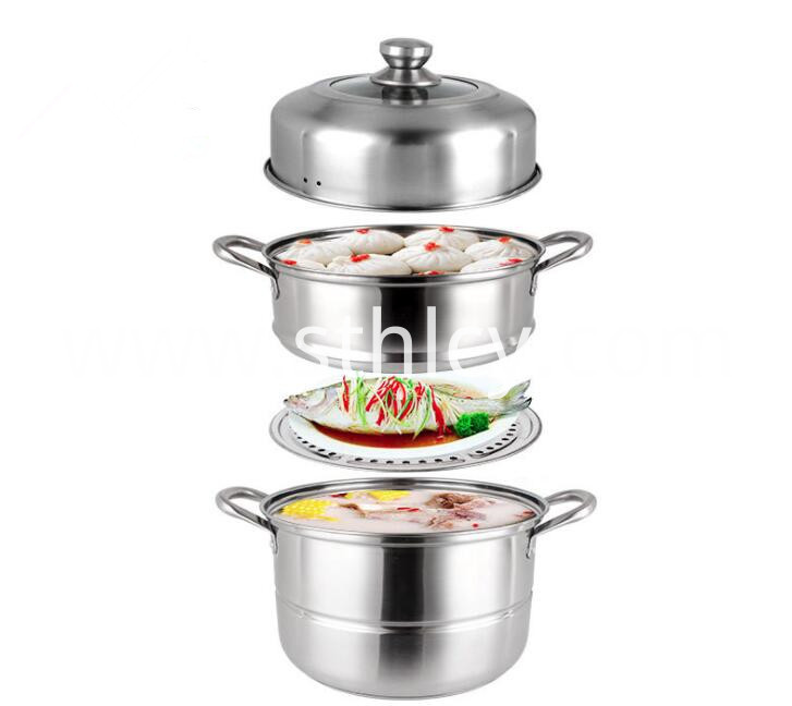 Steamer Pot Cookware Set