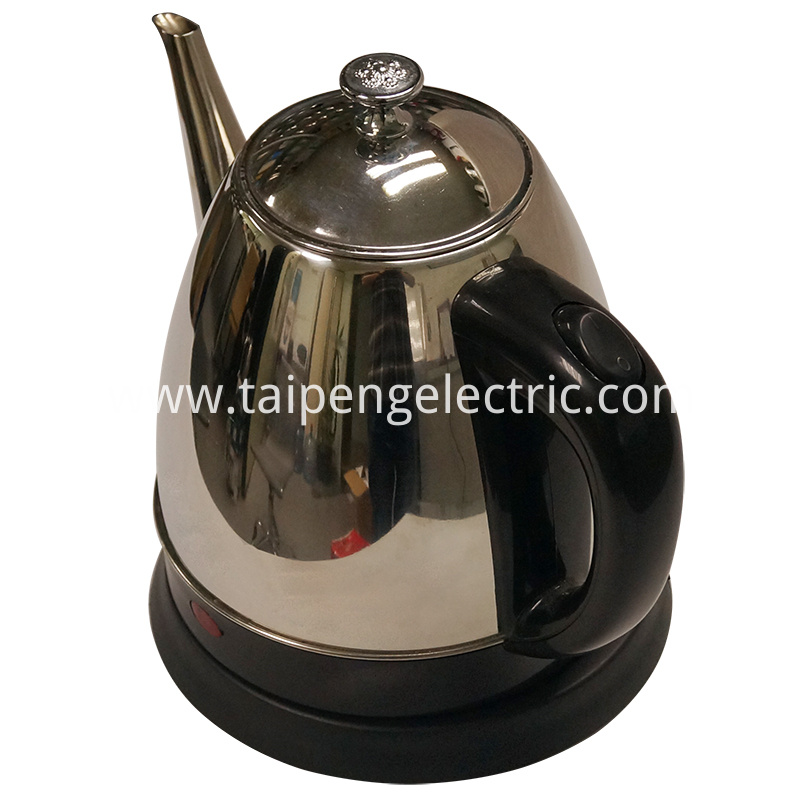 Antique stainless steel kettle