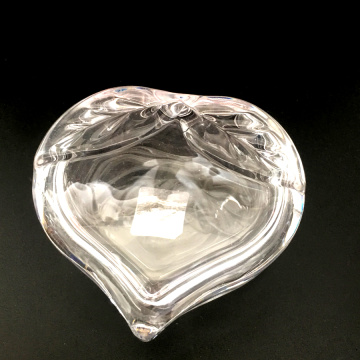 Crystal Heart Shapped Candy Jar