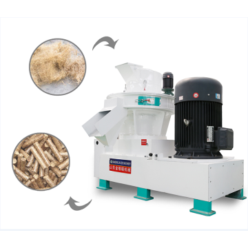 Straw Rice Husk Sawdust Wood Biomass Pellet Mill