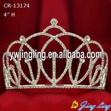 New design high quality Custom King Crowns
