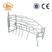 Good Quality for Tube Farrowing Crates Automatic SST Galvanized Sow Farrowing Crate For Pigs export to Liberia Factory