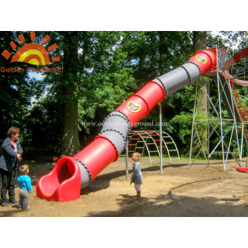Play Set Playground Backyard Tube Slide For Sale