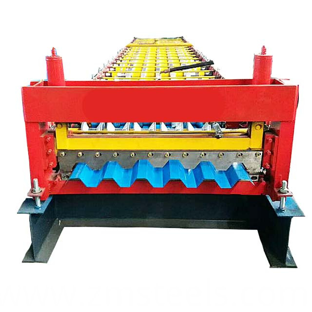Trapezoidal Metal Plate Making Machine