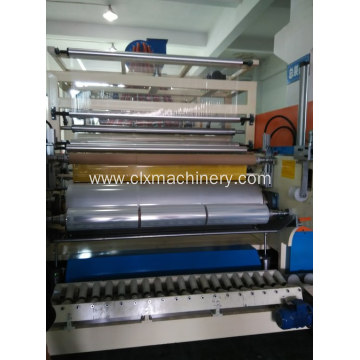 High Efficiency Factory for 1500MM Hand Stretch Film Machine Unit LLDPE Stretch Wrapping Film Making Machine Price export to Poland Wholesale