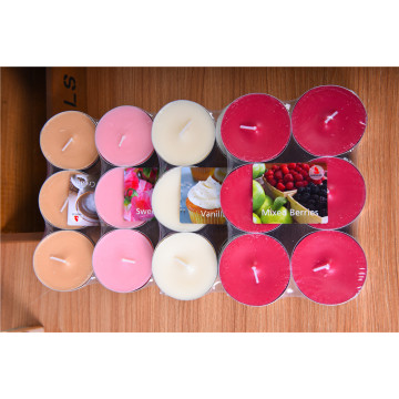 Colorful Scented Tealight Candle
