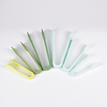 6 Pieces Kitchen Set Nylon PP Salad Serving Tongs