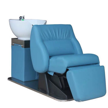Lay down washing salon Electric shampoo chair