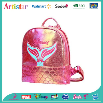 Mermaid red laser backpack