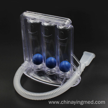 Medical 3 three ball incentive spirometer