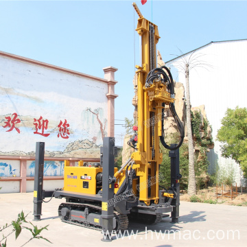 Full Hydraulic 300M Deep Water Well Drilling Rig