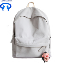 Custom solid color canvas backpack backpack