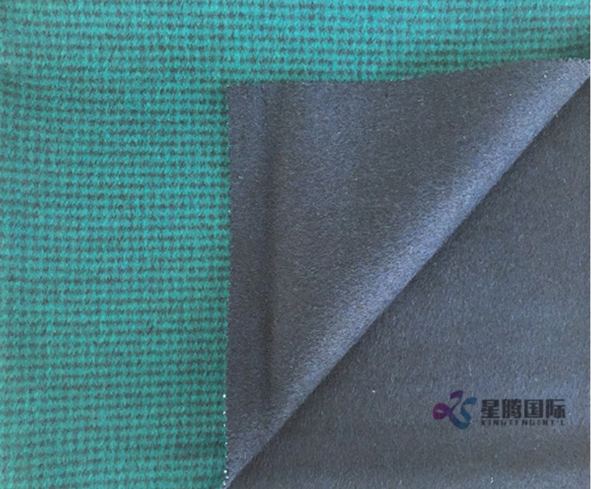 Fashionable Design Double Faced 100% Wool Fabric