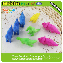 Animal Dinosaur Series Eraser Colorful Designs For Kids